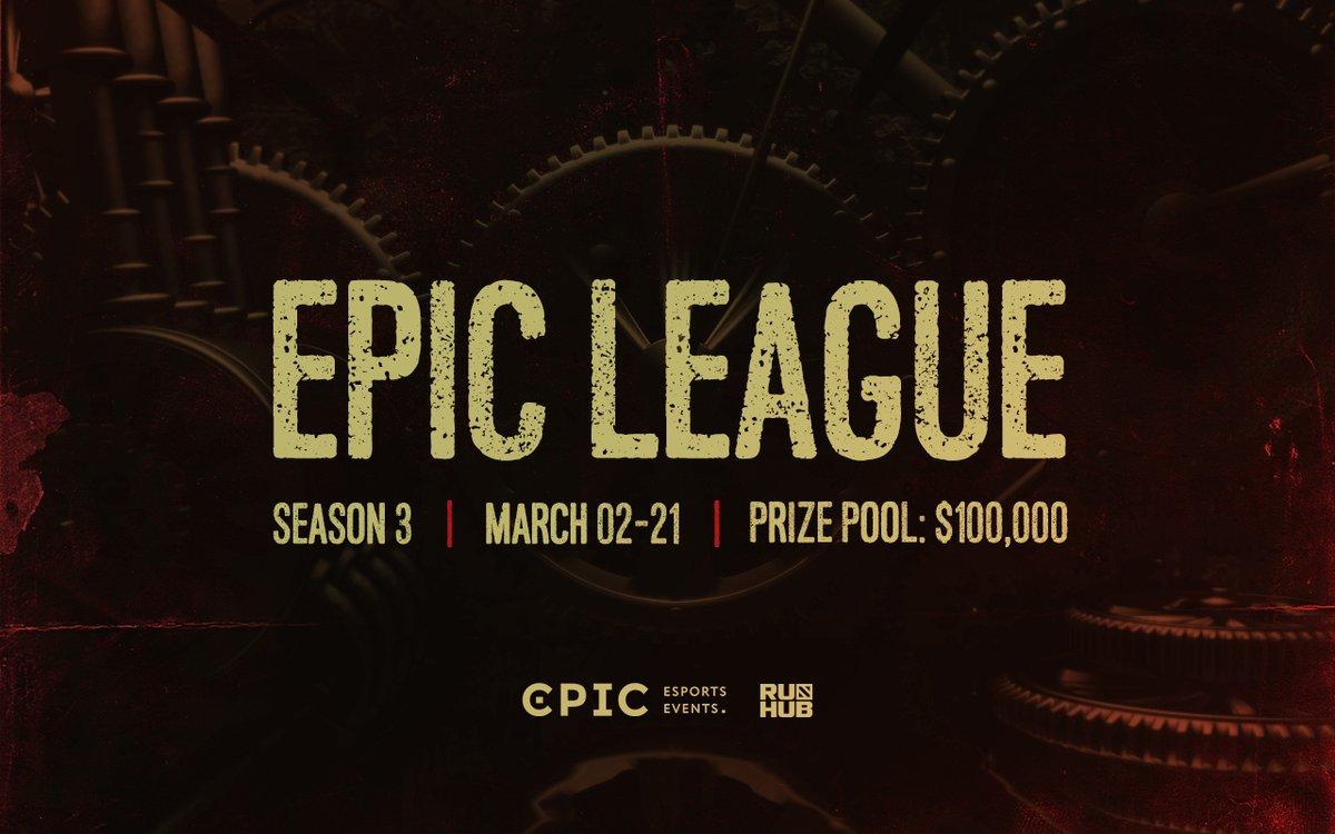 Llega la tercera temporada del torneo EPIC League Dota 2