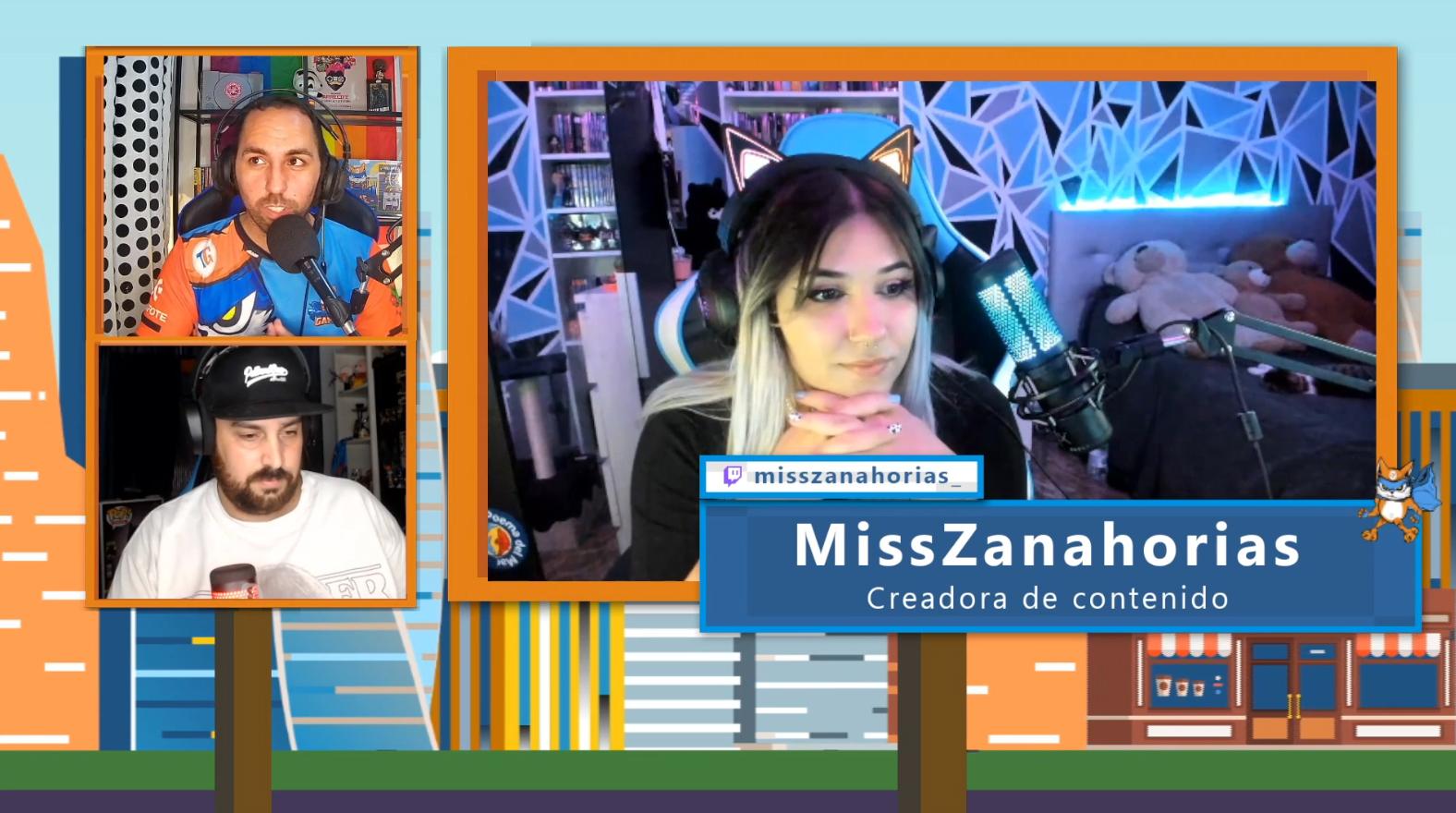 ¡Descubre a la streamer tinerfeña MissZanahorias!